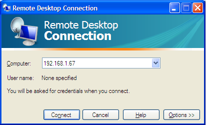 Additional Options For Microsoft Remote Desktop Connection Users