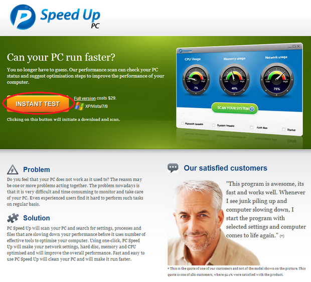 PCSpeedUp Removal – How To Use A Registry Cleaner Program To Remove PC SpeedUp Quickly & Easily